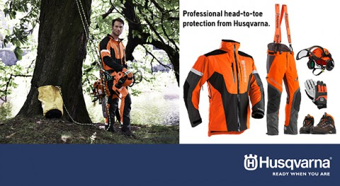 Professional head-to-toe protection from Husqvarna